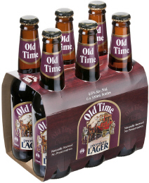 Old Time Premium Lager - a locally produced and fully natural beer with a unique taste we just know you won't find anywhere else.